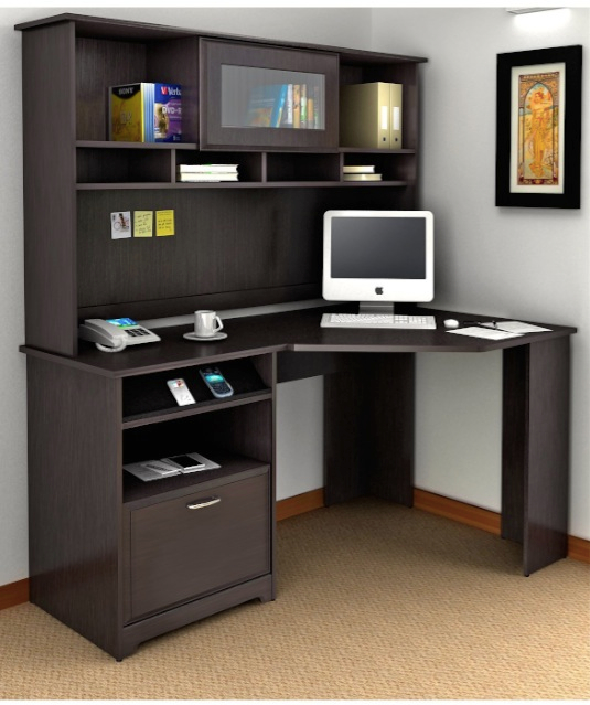 Best puter Desks With Hutch Storage